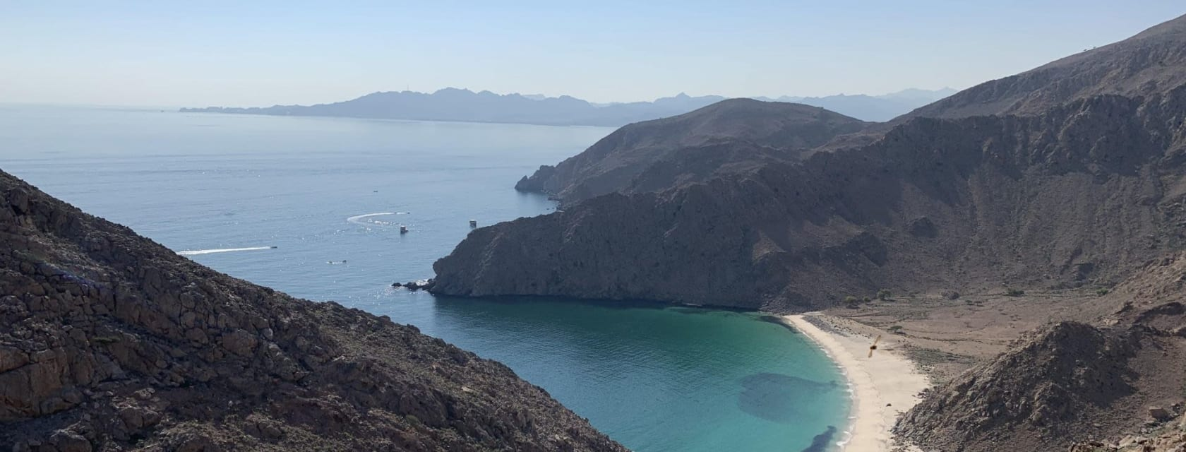 Photo of Smugglers Bay in Musandam Peninsula, Oman
