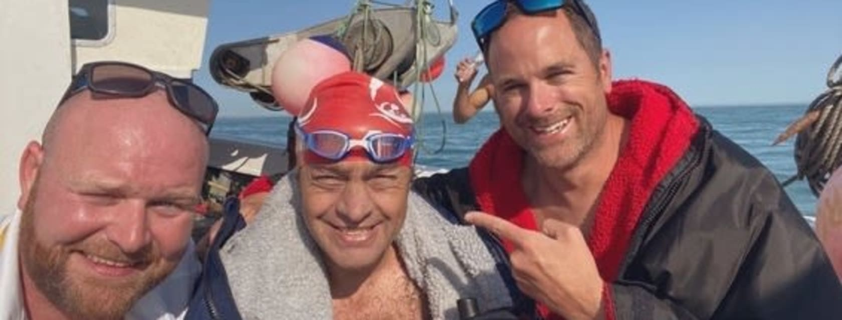 JP Miller conquers the English Channel - solo!